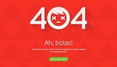 404 Error Page Designs