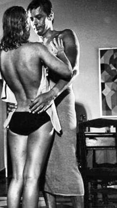Romy Schneider and Alain Delon| Jacques Deray, 'La Piscine' (1969)
