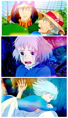 """Howl's Moving Castle"" Just the love between Howl and Sophie is amazing."