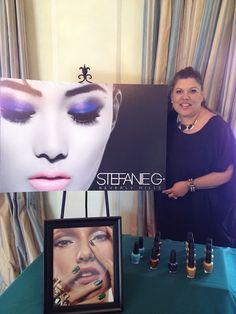 Stefanie G - celebrity makeup artist and makeup line