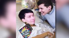"""""""Every one comes with one of these polaroids"""" Dan and Phil play TRUTH BOMBS! (with Tom and Hazel)"""
