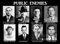 "You know you are a real gangster when you are named ""public enemy number Pretty Boy Floyd, Gangster Quotes, Real Gangster, Mafia Gangster, Gangster Wedding, Gangster Party, Gangster Tattoos, Baby Face Nelson, 1920s Gangsters"