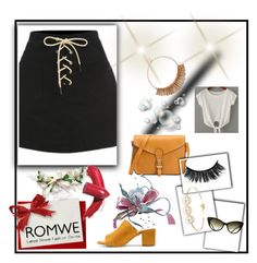 """Romwe"" by malina-husgovic ❤ liked on Polyvore featuring Jules Smith and Elizabeth Arden"