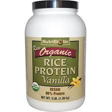 organic brown rice protein powder - Google Search