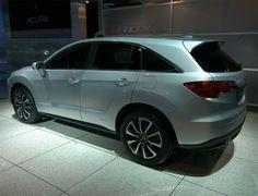 2013 Acura MDX Spy Shot