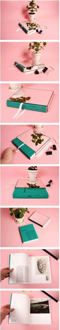 Anders Krisár by Oskar Pernefeldt, via Behance, book sleeve, mirror, issue delivery.