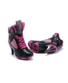 new style fc38f 69478 Air Jordan 5 v Womens Heels Ankle Boots 2012 Black Pink New Cool, Jordan  Shoes