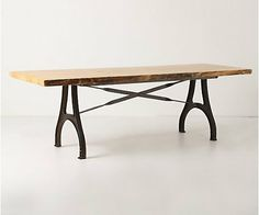 Lever and Lumber Table