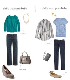 """transitioning to """"mom style"""""""