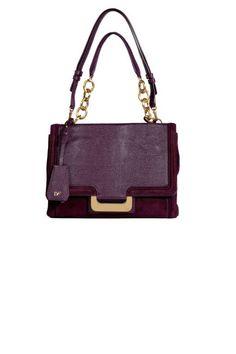 ea9d62ce9648 Ace The Interview. Garnet Embossed Leather Suede New Harper Shoulder Bag ...