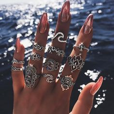 Boho Chic Rings For Womens  Price: 11 & FREE Shipping  #nature #girls #apparels #cute #love #wedding #party #beauty #fashion #animals
