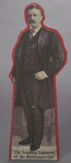 Theodore Roosevelt Standing Cutout Portrait