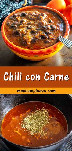 If you grew up with Chili then you MUST try this authentic Chili con Carne. Using dried chiles gives you a massive upgrade in flavor -- so good! I used Anchos and Guajillos for this batch. #chili