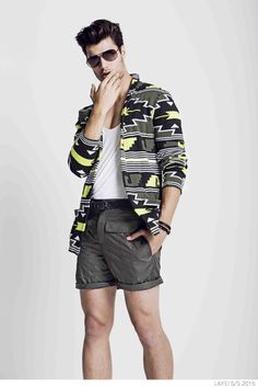LAIFEI Champions a Strong Bold Man with Spring/Summer 2015 Prints + Essentials image Laifei Spring Summer 2015 Collection Emilio Flores 004