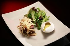 Bree and Jessica's Salt Baked Chateaubriand with Chervil Béarnaise and Pommes Frites http://gustotv.com/recipes/lunch/salt-baked-chateaubriand-chervil-bearnaise-pommes-frites/
