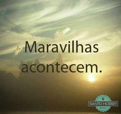 Basta crer! :) #fé #crer #milagres #santohobby