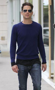 Matt Bomer Photos - Actor Matt Bomer is spotted shopping in Beverly Hills on May…