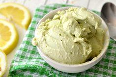 lighter avocado ice cream