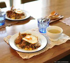 暑い日には!たっぷり大葉のタイ風ひき肉ごはんと、昨日はクックパッドさんへ|井上かなえオフィシャルブログ 「母ちゃんちの晩御飯とどたばた日記」Powered by Ameba