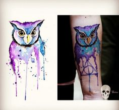 De Hogwarts para o mundo: tatuagens inspiradas pelo filme Harry Potter