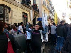 Apoyando a la Casa Invisible en #Málaga #lainvisequeda #elviajemehizoami