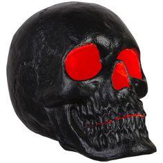 Skull Wallpaper, Heart Wallpaper, Black Glitter, Matte Black, Simple Skull Drawing, Orange Led Lights, Horror Decor, Skull Candle, Flickering Lights