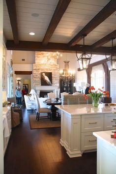 Like the dark floors: Southern Living Showcase Home (Part 1) « Love & Renovations