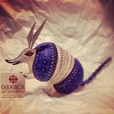 Armadillo boludo del Maestro Jacobo Angeles #OaxacaArtesanal #JacoboAngeles #artesaniaoaxaqueña #handmade #alebrijes #alebrijesdecoleccion