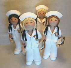Nurses Cake Toppers