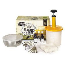 Mad-Millie-Hard-Cheese-Kit from Lakeland http://www.lakeland.co.uk/Christmas/gifts/for-cooks?src=pinit