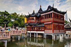 Shanghai - Yuyuan gardens - Old Town