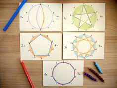 Du matériel coloré et attirant, un gros morceau du programme scolaire à travailler ... Multiplication incitation