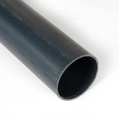 TUBO PVC GRIS - Aquí encontrarás tubos de PVC gris de varios diámetros principalmente destinado a instalaciones de todo tipo, pero también para decoración, lámparas, alimentos, acuarios, esculturas, ... Material World, Industrial, Pvc Pipes, Window Displays, Aquariums, Grey, Tents