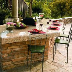 How to build your own barbecue bar Use our plans and instructions to build a stunning bar for backyard cooking and entertaining