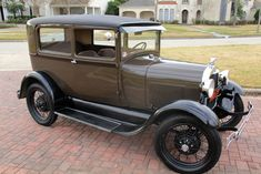 1929 Ford Model A  (My grandpa's first car was one of these)