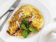 Kürbis-Crêpe ist ein Rezept mit frischen Zutaten aus der Kategorie Blütengemüse…
