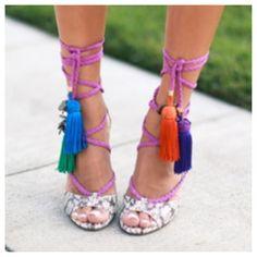 Jimmy Choo dream tassel sandals