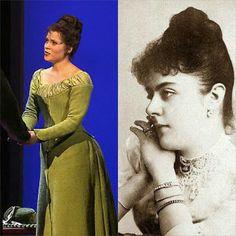 "Lisa Antoni as Baroness Mary Vetsera in the musical ""Rudolf - The last kiss"""