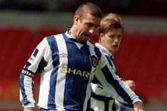Eric Cantona wore the number 7 shirt during his time at Manchester United