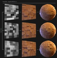 Jeff Horal presented his amazing Stylized Tile Generator that allows artists to easily create new stylized textures in Substance Designer. 3d Texture, Tiles Texture, Blender 3d, Substance Designer Tutorial, Dungeon Tiles, Game Textures, Sword Design, Blender Tutorial, 3d Tutorial