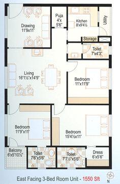 floor house plans - Google Search