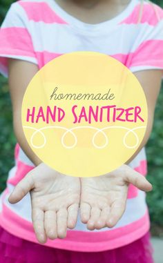 Simple. Pure. Cost effective. Make your own homemade hand sanitizer with 4 easy ingredients!
