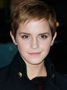 Emma Watson pixie cut - I recently changed my hair from a little longer than shoulder length to a pixie cut. To anyone considering doing the same thing: Just do it! I love it! The upkeep is so much easier and I feel so much more sophisticated!