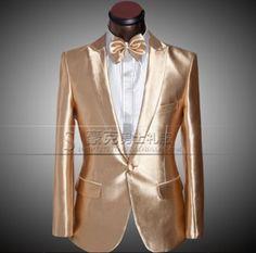 New-Men-039-s-Lapel-Host-Master-Sparkling-Suit-Blazer-Uniform-Wedding-Jacket-Z304 Blazer Suit, Suit Jacket, Man Of Honour, Blazers, Wedding Jacket, New Man, Ladies Dress Design, Suits, Hunny Bunny
