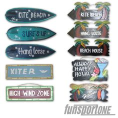 ALOHA-HAWAII-BEACH-HOLZ-MASKE-DEKO-BOARD-SCHILD-WAND-BRETT-SURF-KITE-WAKE