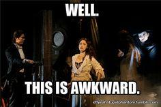Phantom of the opera funny
