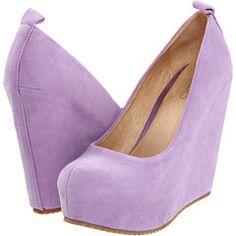 lavender wedge pumps :)