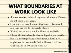 Work Quotes, Work Stress Quotes, Boundaries Quotes, You At Work, Setting Boundaries, Work Motivation, Mental And Emotional Health, Word Of Advice, Self Improvement Tips