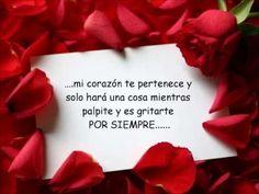 Poema Romantica exclusivo para dedicar a la persona que siempre sera especial en el corazon y que siempre la amare........ ♥¸.•*¨)¸.•*¨) (¸.•´♥♥.¸.•´¸.•*´¨) ...