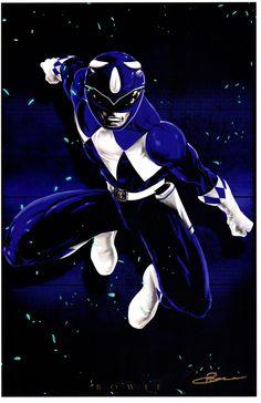 Blue Ranger by Damon Bowie                                                                                                                                                                                 Más
